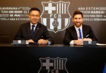 Vision Sport Messi en guerre avec le président du Barça Bartomeu, Pape Cheikh Diop choisi le Sénégal