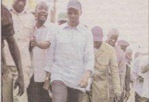 Quand le petit- bourgeois Abdoul mbaye souffrait avec ses mocassins dans les zones inondées.