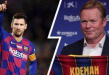 Barça : discussions entre Messi et Koeman pour le capitanat