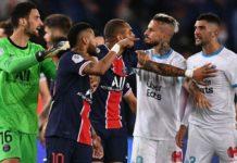 PSG-OM : 17 cartons distribués, un record lors d'une rencontre de Ligue 1 au 21e siècle