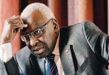 Le collectif de soutien à Lamine Diack parle de «condamnation criminelle»