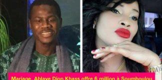 6 millions et une parure en or : La dot de Soumboulou Bathily, future épouse de Abdoulaye Diop Khass