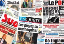 Le limogeage de Moussa Diop à la Une