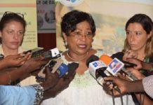 Visite dans les zones inondées de la ville de Dakar: Soham El Wardini choquée par la misère des sinistrés