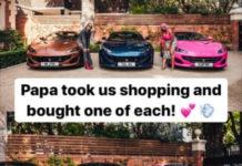 Don Jazzy et Davido promettent le luxe à leurs enfants alors qu'ils réagissent au cadeau Ferrari d'Otedola à ses filles