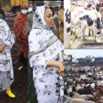 En route vers le 18 Safar, comme à l'accoutumée Sokhna Aida Diallo au Mali pour l'achat des bœufs
