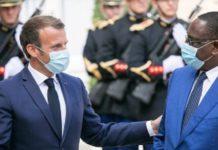 Macky Sall, Emmanuel Macron, Sénégal, France