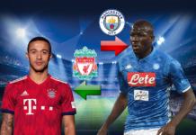 Vision Sport : PSG fait une offre de 52 millions d'euro pour Koulibaly, Alcantara vers Liverpool