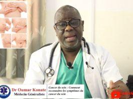 Docteur Oumar Konaté nous parle du Cancer du sein : Comment reconnaître les symptômes