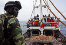 La Marine intercepte 186 migrants clandestins en haute mer
