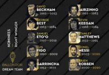 « Ballon d'Or Dream Team » : Eto'o et Weah seuls Africains nommés