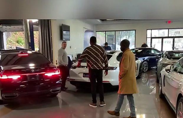 Mo Gates offre 450 millions à sa maman : Deux Ranger Rover et un Maybach-Mercedes S560″