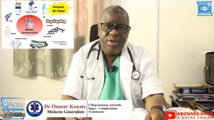Docteur Oumar Konaté nous parle de l'hypertension..
