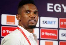 """Eto'o : """"Il y a beaucoup de pression autour de l'équipe du Sénégal"""""""
