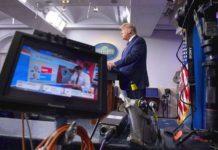Des télévisions américaines coupent l'allocution en direct de Donald Trump