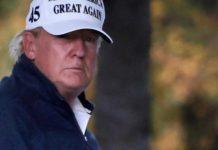 Présidentielle américaine : Donald Trump crie toujours au vol et joue au golf