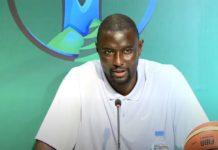 """Tournoi Kigali – Boniface Ndong, sélectionneur des Lions : """"Nous ferons mieux face à l'Angola"""""""