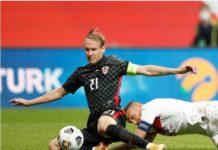 Croatie : Le capitaine Vida a été testé positif au Covid à la pause contre la Turquie