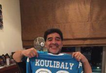 """Le vibrant hommage de Kalidou Koulibaly à Maradona: """"Je n'oublierai jamais tes paroles pour moi"""""""