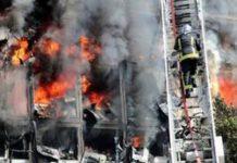 Urgent : Grand Incendie au Port Automne de Dakar