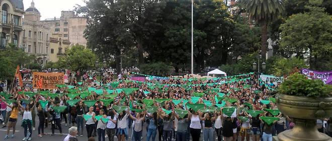 Argentine: le Sénat examine le projet de loi sur l'IVG, défendu par les militantes féministes