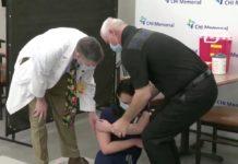 Vaccin covid: La vérité sur la vidéo de l'infirmière évanouie après vaccination