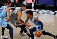Fin de malédiction pour Utah face au Thunder, Ja Morant (Memphis) blessé