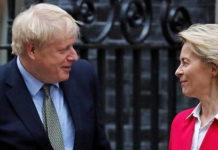 Brexit: Boris Johnson rencontre Ursula Von der Leyen pour sortir du blocage