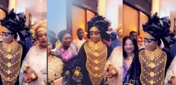 Mariage en Gambie – La milliardaire gambienne Djienaba Dabo débarque avec un collier d'or de 200 millions ...