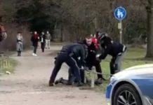 """Allemagne: Arrestation brutale d'un Sénégalais, """"Je ne peux pas respirer"""", le spectre Georges Floyd"""