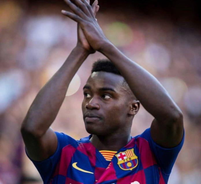 Le joli message de soutien du Barça envers Moussa Wagué…