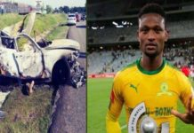 Football : L'international sud-africain Motjeka Madisha est mort dans un accident…