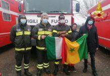 Italie : Don de 3 véhicules de secours pour lutter contre l'incendie à Touba