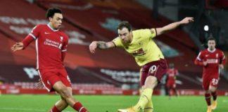 Premier League : Liverpool chute à domicile après 68 matchs sans défaite