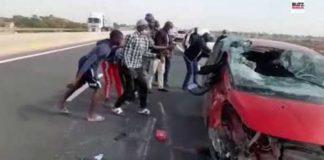 Autoroute à péage : Koromack Faye victime d'un accident