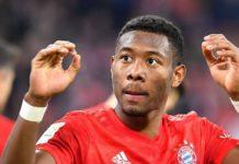 Liverpool s'approche de David Alaba, du Bayern Munich