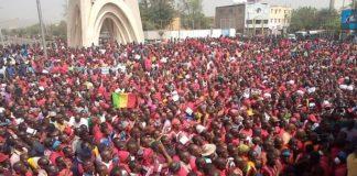 Mali: La population marche pour demander le départ de l'armée française, ce mercredi