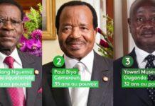 Museveni, Biya, Ngemat et…