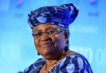 La Nigériane Ngozi Okonjo-Iweala, première femme et première Africaine à diriger l'OMC