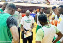 Afrobasket 2021 : premier entraînement des Lions, à Yaoundé