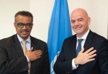 Accès mondial au vaccin : La FIFA et l'OMS s'allient contre la covid-19