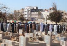 Cimetière de Yoff: 37 corps non identifiés inhumés hier
