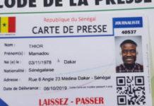 Presse : Remise officielle des premières cartes nationales de presse ce lundi