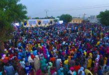 Accueil spectaculaire à Mbacké: Bougane Guèye Dani en terrain conquis, draîne des foules