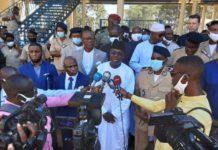 l'Union des Conseils de Chargeurs Africains (UCCA), Mamadou Ndione DG COSEC en mission en Guinée