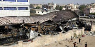 Irak: au moins 64 morts dans l'incendie de l'hôpital de Nassiriya