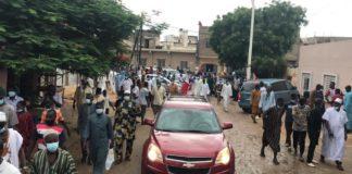 Inhumation au Cimetière de Pikine : Une foule immense accompagne Samba Sarr