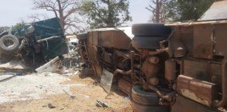 Un grave accident fait 14 morts et plus 20 blessés vers Ndioum