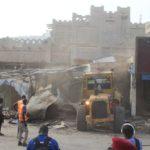 (Photos)-Démolition du bâtiment mythique de Sandaga : les architectes crient au scandale