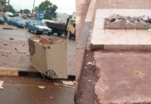 Guinée Bissau: destruction du panneau de l'avenue Macky Sall